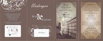 template undangan format cdr download template undangan pernikahan coreldraw cdr cacingkremi com