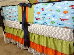 Helicopter Crib Bedding Custom Airplane Air Balloon Helicopter Crib Set