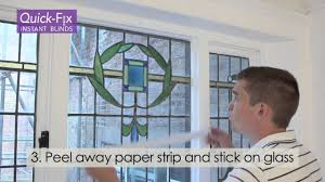 how to fix our instant temporary blinds by quickfix blinds uk