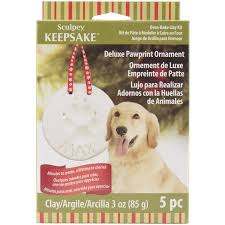 sculpey keepsake pawprint ornament kit walmart