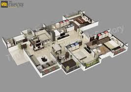 3d Home Floor Plan 3d Floor Plan 3d Floor Plan For House Autocad 3d House Plans