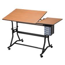 Split Level Drafting Table Safco Adjustable Split Level Drafting Table Hayneedle