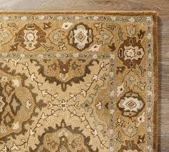 Leopard Rugs Pottery Barn Sketch Beige Wool Rug