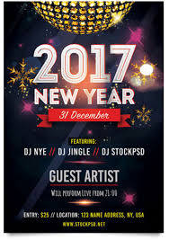 29 free new year flyer templates in psd vector ai tech trainee