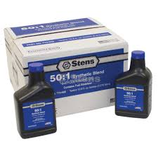 770 600 synthetic blend 50 1 2 cycle engine oil mix stens
