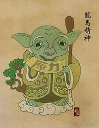 Chinese Art Design Star Wars Characters Done In Chinese Art Style Sci Fi Design