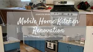 how to update mobile home kitchen cabinets single wide mobile home kitchen renovation painting cabinets flooring countertops total cost