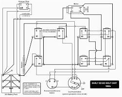 wiring diagram western golf cart battery wiring diagram ez go