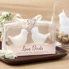 candle party favors birds white bird tea light candles candle wedding favors