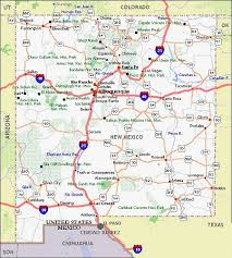 map new map maps new mexico travel map with collection of maps all