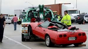 corvette crash corvette crash shuts i 95 in south florida
