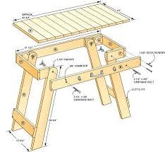 Wood Folding Table Plans Folding Tables Plans Multipurpose Folding Table Plans Folding