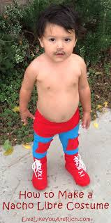 nacho libre costume to make a nacho libre costume