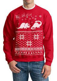 sweater santa dinosaur pullover