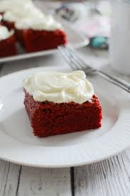 red velvet brownies fake ginger