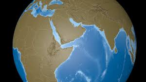 saudi arabia world map saudi arabia on the satellite map outlined and glowed elements of