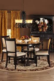 Awesome Black Dining Room Furniture Ideas Room Design Ideas - Black wood dining room table