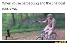 Funny Running Memes - when you re barbecuing and the charcoal runs away funny run meme