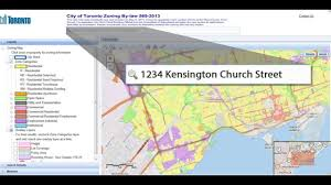 Map Of Toronto Canada by City Of Toronto Interactive Zoning By Law Map Youtube