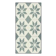tapis de cuisine tapis de cuisine carreaux de ciment 50x80cm en vinyle