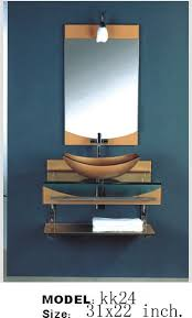 wall mount vessel sink vanity kokols wall mount vessel sink combo set