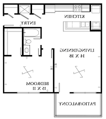 Studio Apartment Floor Plan by Home Design Marina Lofts 1 Bedroom Apartment Floor Plan Fort