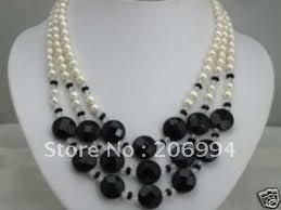 designer handmade jewellery aliexpress buy wholesales design charming 3 rows black onyx