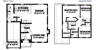 two story floor plans modern 2 story house floor plans