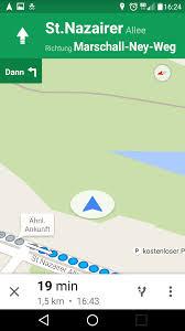 Google Maps Navigation Test Spaziergang Mit Google Navi App Mapsblog De