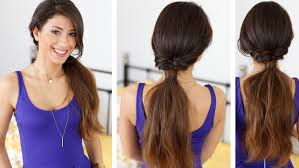 Hair Extensions For Updos by Quick And Effortless Ponytail Hairstyle With Luxy Hair Extensions