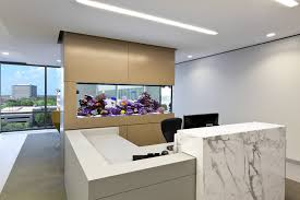 furniture sophisticated fish tank room divider with recessed