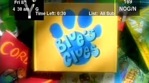 blue u0027s clues 03x03 weight and balance video dailymotion