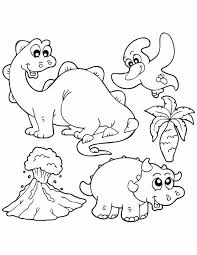 dinosaur coloring pages kids