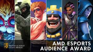 bafta announces nominations for amd esports audience award inven