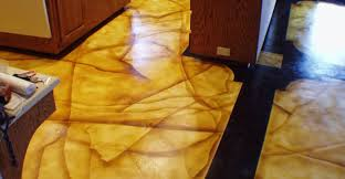 kitchen floor designs and benefits of concrete the