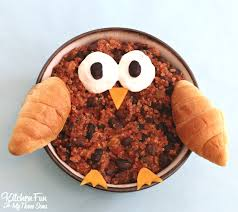 owl chili recipe for kids kitchen fun with my 3 sons