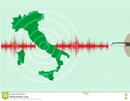 Italy Earthquake Map by Italy Map Earthquake Epicenter Recorded With A Seismic