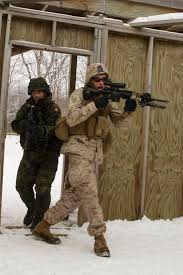 file lance cpl john r ehr right a rifleman with 1st platoon