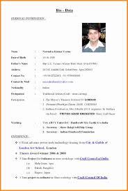 Bio Resume Examples by Writing A Bio Resume