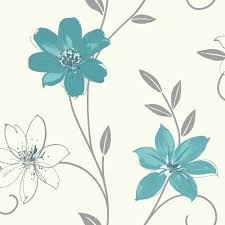 blue and white flower wallpaper collection 52