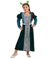 Fiona Halloween Costume Shrek Princess Fiona Child Costume Movie Costumes