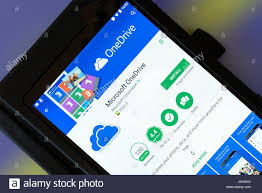 onedrive app for android microsoft onedrive app on an android tablet pc dorset uk