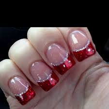 christmas nails kacy this one is for you festive red nails