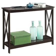 convenience concepts console table oxford console table espresso espresso convenience concepts target