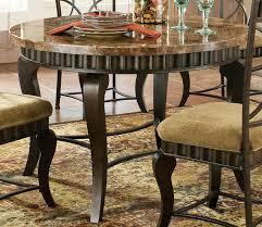 Granite Top Dining Table Set - granite top round dining table home interior design ideas