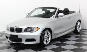 used bmw 1 series convertible 2010 used bmw 1 series 135i m sport package paddle shifters at