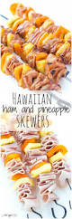Cold Dinner Hawaiian Ham And Pineapple Skewers Recipe Picnic Lunches Easy