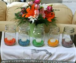 table decorations for easter colored rice easter table decor today s creative