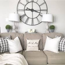 Large Wall Decor Ideas For Living Room Best 25 Wall Behind Couch Ideas On Pinterest Small Livingroom