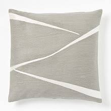 Linen Covers Gray Print Pillows White Walls Grey Decorative Pillows West Elm